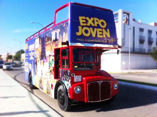 autobús publicitario eventos