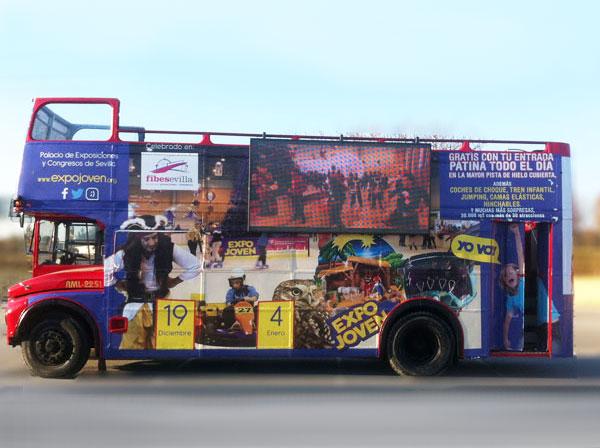 pantallas publicitarias en autobús