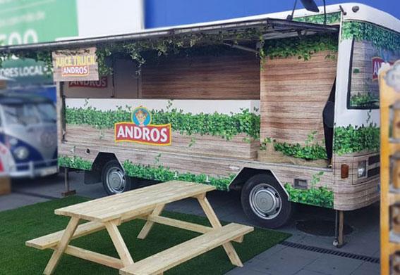 food truck abierto plaque