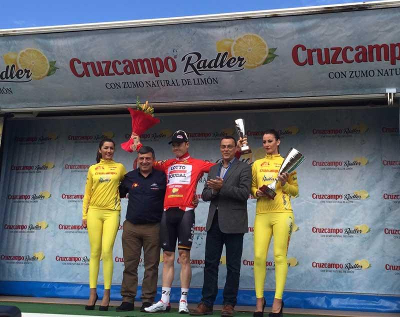 Ganador 1er sector Vuelta Ciclista a Andalucía Pim Ligthart