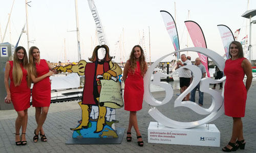 azafatas 525 aniversario regata