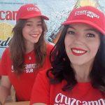 Plaqué con Cruzcampo en la regata Sevilla – Betis 2017