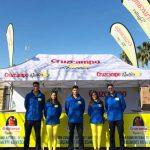 Plaqué y Cruzcampo Radler en la Vuelta Ciclista Andalucía 2018