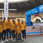Zurich Maratón de Sevilla 2018 con Cruzcampo Radler y Plaqué