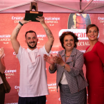 Concurso de tiradores de Cruzcampo 2018 en Triana