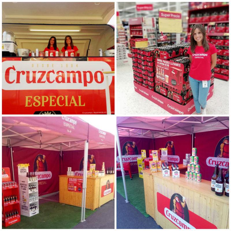 Promocion Cruzcampo-vuelta ciclista españa
