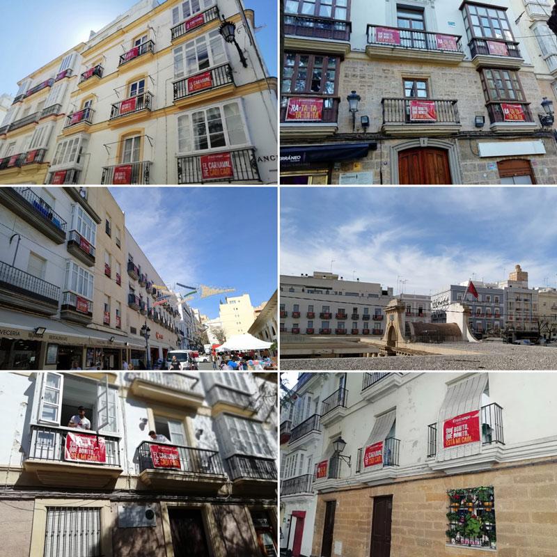 lonas en balcones Cádiz