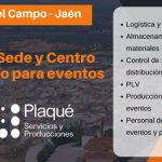 Plaqué abre una nueva Sede y Centro Logístico para eventos en Jaén