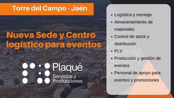 Centro logístico en Jaén-Plaqué