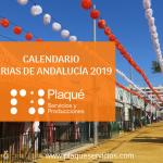 Ferias de Andalucía 2019: Calendario de Ferias destacadas