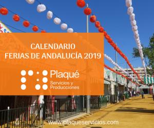 Ferias de Andalucía 2019
