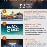 Festivales en España 2019: Top 7 conciertos de verano